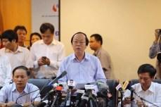 Cuối cùng thì nhà nước Việt nam cũng họp báo tuyên bố nguyên nhân cá chết ở vùng biển Miền Trung: Cty Formosa xả chất độ ra biển.
