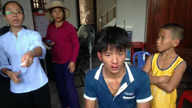 June 2017: Police-Hired 'Thugs' Beat Vietnamese Anti-Formosa Catholics